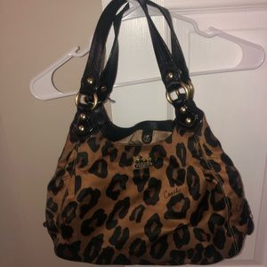 Limited Edition Coach Ocelot Purse